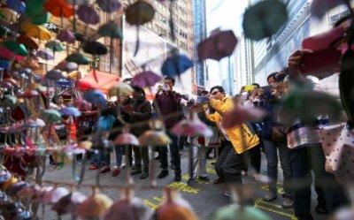 """Hồng Kông phát động """"phong trào bất hợp tác"""""""