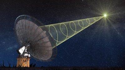 Các nhà thiên văn ghi nhận được tín hiệu vô tuyến bí ẩn từ vũ trụ