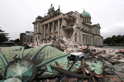 Động đất mạnh 6,3 độ Ritcher tại New Zealand
