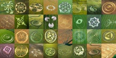 Điểm lại sự xuất hiện của vòng tròn bí ẩn trên các cánh đồng