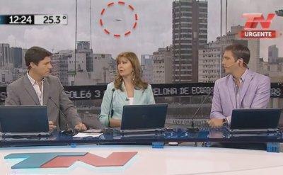 UFO xuất hiện trong chương trình phát sóng trực tiếp ở Argentina