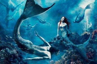 """""""Nàng tiên cá"""" có thật trong lịch sử?"""