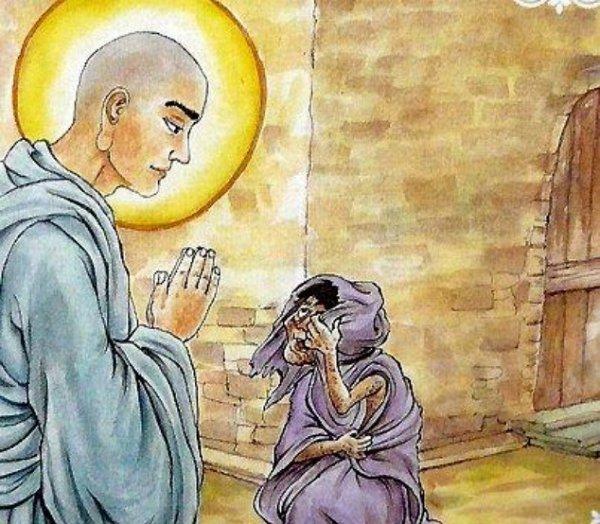 Nhân quả báo ứng: Vô lễ làm nhục Phật, khổ báo chín vạn năm