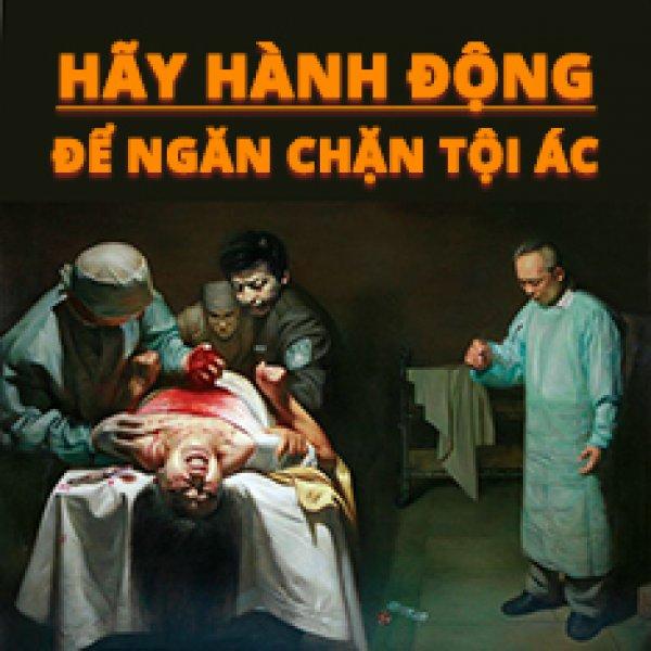 Người dân Úc kêu gọi chính phủ tham gia chấm dứt mổ tạng phi pháp ở Trung Quốc