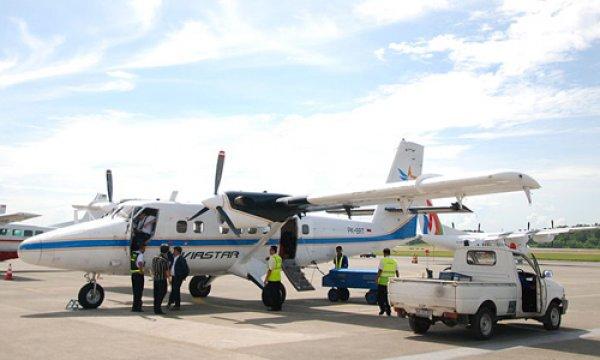 Máy bay động cơ tua bin cánh quạt của Indonesia mất tích