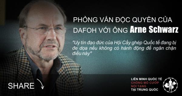 Phỏng vấn độc quyền của DAFOH với ông Arne Schwarz