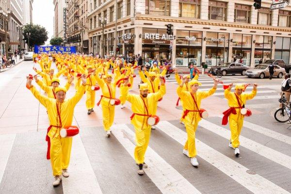 Mỹ: 4000 học viên Pháp Luân Công diễu hành tại quảng trường Pershing