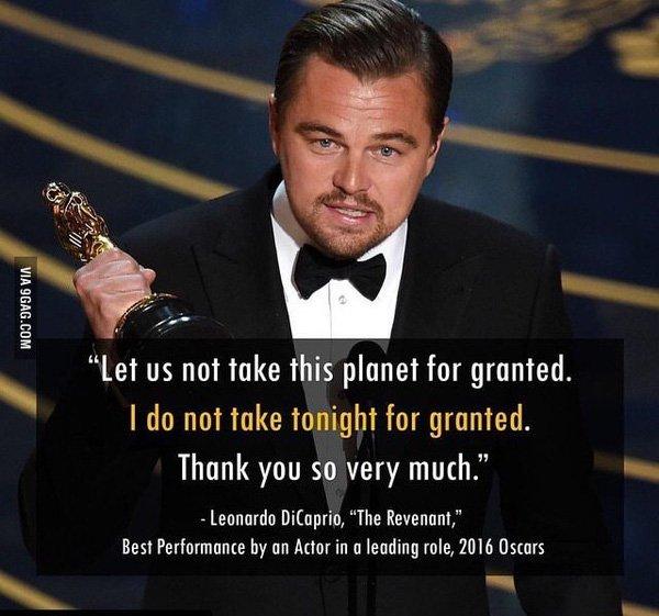 Leonardo DiCaprio cuối cùng đã thắng giải Oscar sau 2 thập kỉ