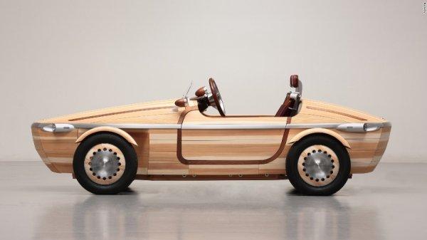 Ô tô làm từ gỗ – Kiệt tác gia truyền của Toyota