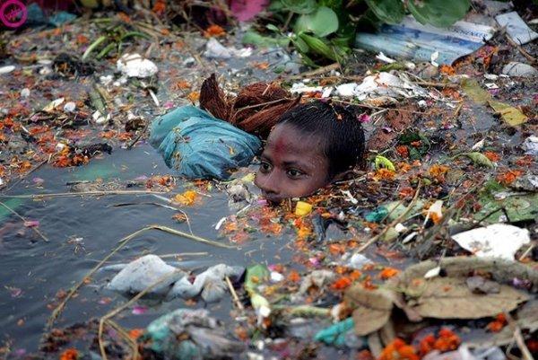 Loạt ảnh chấn động cho thấy đại dương đang trở thành hố rác khổng lồ