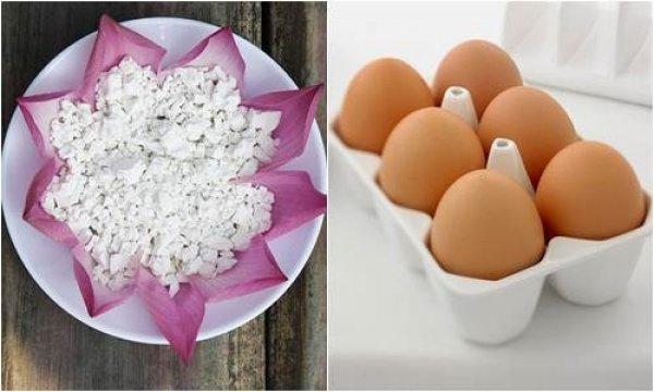 Đánh bay mụn, trị nám da bằng hỗn hợp bột sắn và lòng đỏ trứng gà