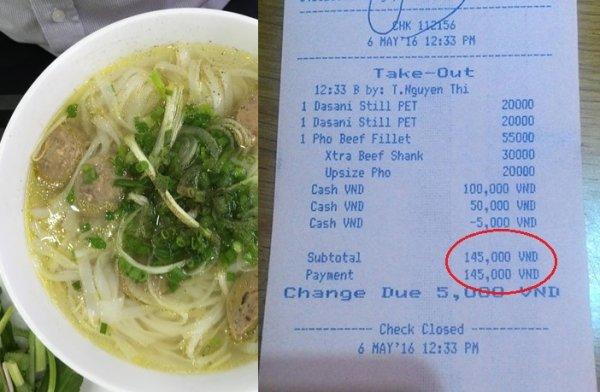 """""""Trí khôn"""" của một tiệm phở ở sân bay Tân Sơn Nhất"""