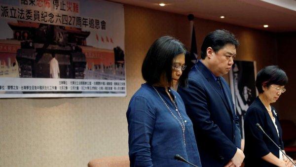 Lần đầu tiên Quốc Hội Đài Loan kỷ niệm thảm sát Thiên An Môn