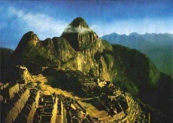 Phát hiện khuôn mặt khổng lồ bí ẩn ở thánh địa Machu Picchu