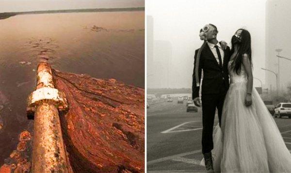 20 bức ảnh khiến cả thế giới rùng mình vì hậu quả của ô nhiễm môi trường