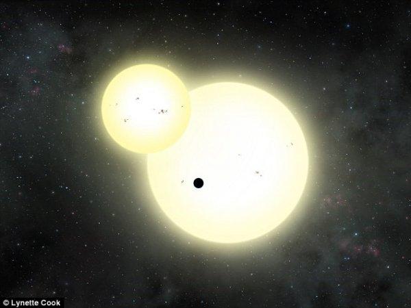"""Phát hiện hành tinh """"hiếm"""" quay xung quanh 3 ngôi sao"""