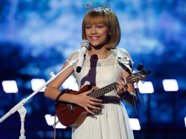 Cô bé 12 tuổi bật khóc nức nở khi trở thành quán quân America's Got Talent