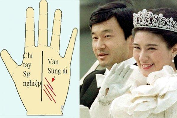 Muốn biết hôn nhân hạnh phúc cỡ nào, hãy xem đường vân tay Sủng ái