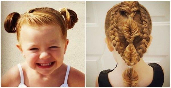 Nhìn những hình này, ai còn nói con gái không thể xinh đẹp khi ở với cha?
