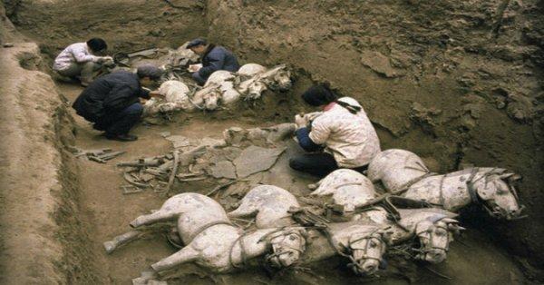 'Thế giới động vật' ở bên trong lăng mộ Tần Thủy Hoàng
