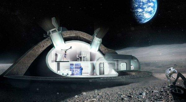 Con người có thể sống trên Mặt Trăng trong tương lai