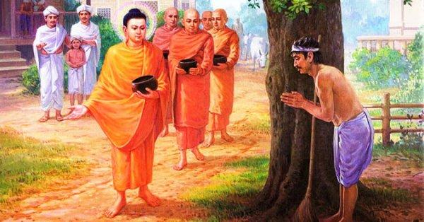 Chuyện cổ Phật gia: Người gánh phân nghèo hèn và sự từ bi của Đức Phật