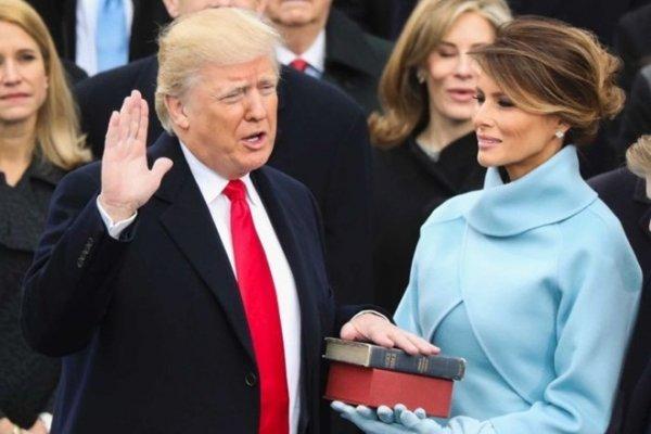 Những hình ảnh lễ tuyên thệ nhậm chức tổng thống của ông Donald Trump