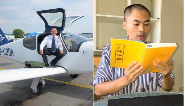 Câu chuyện của một phi công người Việt Nam: Quyết tâm đến Đài Loan để đọc một cuốn sách vô giá