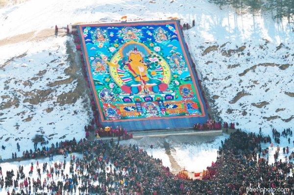 Nhìn lại những bức tranh Thangka, nơi lưu giữ bản sắc vùng đất thiêng Tây Tạng