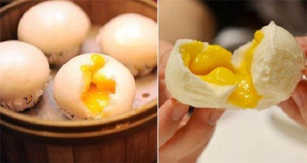 Cách làm bánh bao kim sa nhân vàng thơm ngon