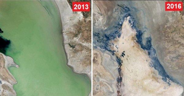 Loạt ảnh sốc của NASA cho thấy sự thay đổi mạnh mẽ của Trái Đất