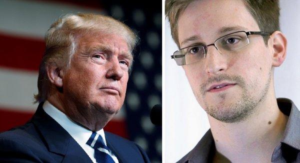"""Nga cân nhắc trả Edward Snowden để """"nịnh bợ"""" ông Trump"""