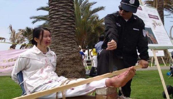 Những lời ngụy biện chưa từng thấy của cảnh sát Trung Quốc khi đàn áp người vô tội