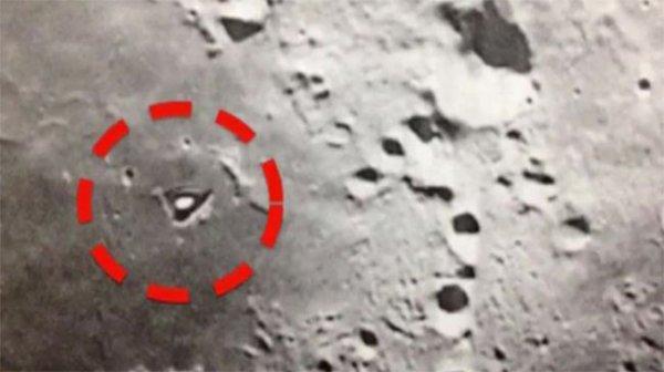 Phát hiện căn cứ di động của người ngoài hành tinh trên Mặt Trăng?