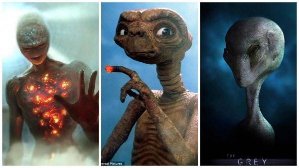 Hình dạng và nhiệm vụ của 5 chủng người ngoài hành tinh từng ghé Trái đất