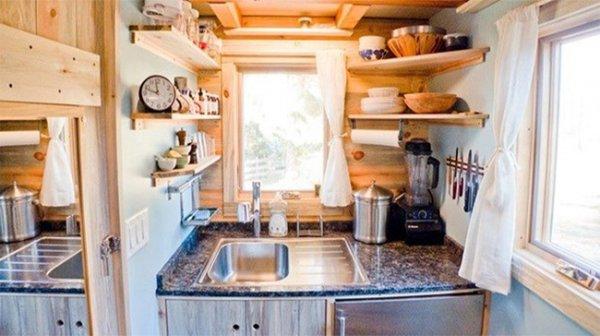 Phòng bếp chật không còn là nỗi lo với 10 ý tưởng độc đáo này