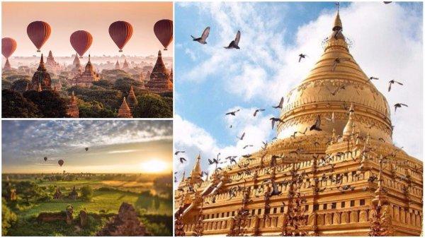 Cố đô Bagan – Vùng đất thiêng của 10.000 ngôi đền cổ