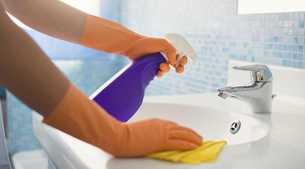 Mẹo dọn nhà tắm cực đơn giản, không tốn sức