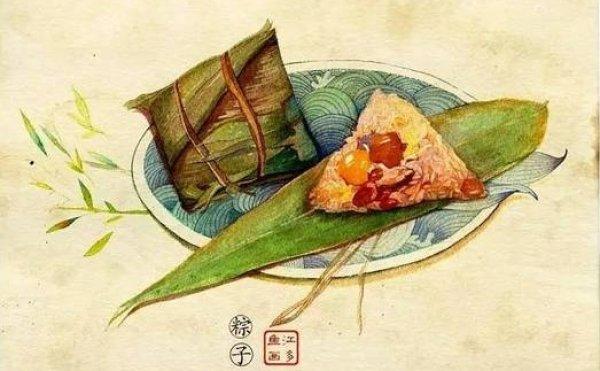 Nguồn gốc tục ăn bánh ú Tết Đoan ngọ: Chuyện giao long và Khuất Nguyên