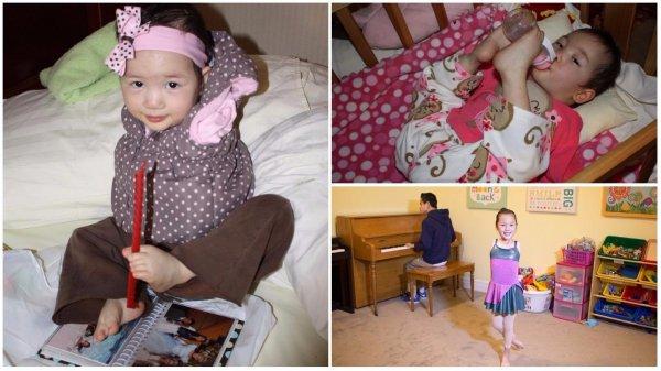 Nghị lực phi thường của bé gái không tay và giấc mơ trở thành vũ công