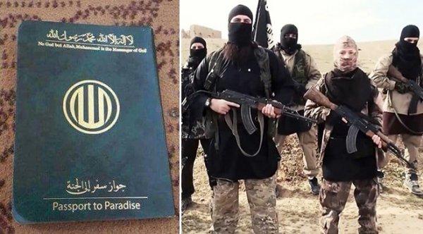 """ISIS cấp """"hộ chiếu lên thiên đường"""" cho thành viên, khuyến khích đánh bom tự sát"""