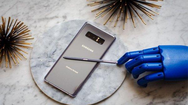 Samsung ra mắt Galaxy Note 8 với camera kép, màn hình lớn chưa từng có