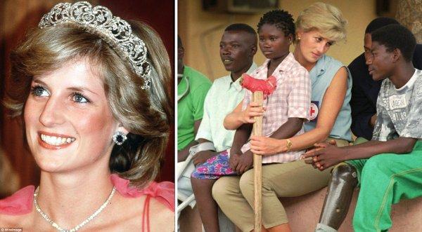 Loạt ảnh đáng nhớ về Công nương Diana xinh đẹp và nhân ái của nước Anh