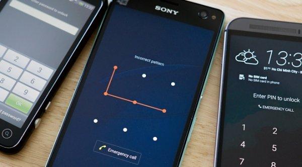 Hình vẽ mở khóa điện thoại có thực sự an toàn?