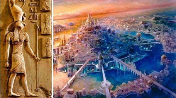 Vị tư tế Ai Cập bí ẩn và câu chuyện kỳ lạ về lục địa huyền thoại Atlantis