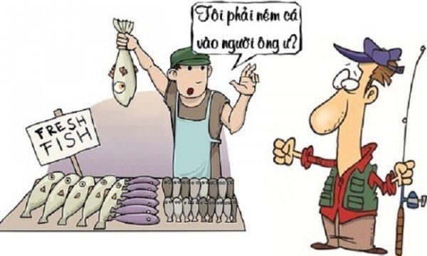 Truyện tranh online: Lòng tự trọng của người câu cá