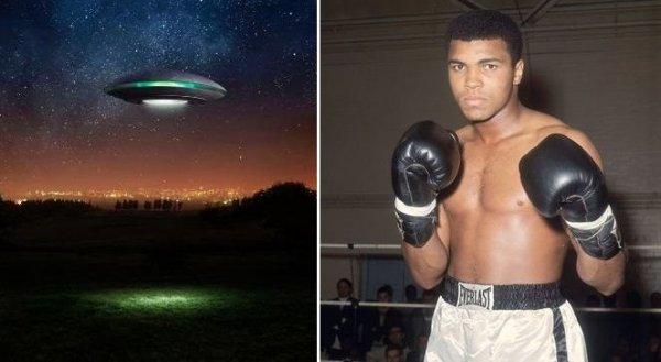 Chuyện về 16 lần chạm trán UFO của huyền thoại đấm bốc Muhammad Ali
