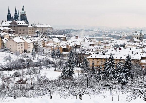 Mùa đông trời Âu đẹp như tranh vẽ
