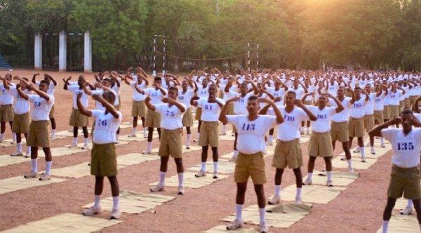 Hàng trăm cảnh sát Ấn Độ cảm thấy tĩnh tại và an hòa khi học Pháp Luân Công