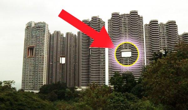 """Bí mật phong thủy """"Cổng rồng"""" trong các cao ốc ở Hong Kong"""
